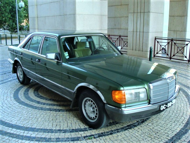 mercedes benz 500 se w126 lisbonclassics. Black Bedroom Furniture Sets. Home Design Ideas